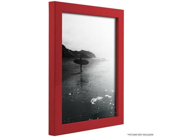 Craig Frames 12x12 Inch Modern Red Picture Frame Confetti