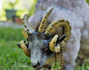 Cold Plains Ram - OOAK Fantasy Art Doll