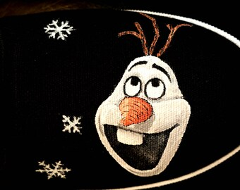 Olaf Hand Painted TOMS