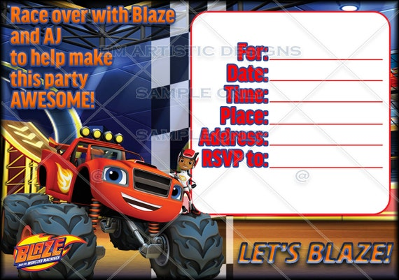 Download blaze and the monster machines