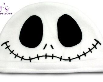 Jack Skellington Hat / Fleece Hat / Winter Hat / Nightmare Before Christmas Hat / Video Game Characters