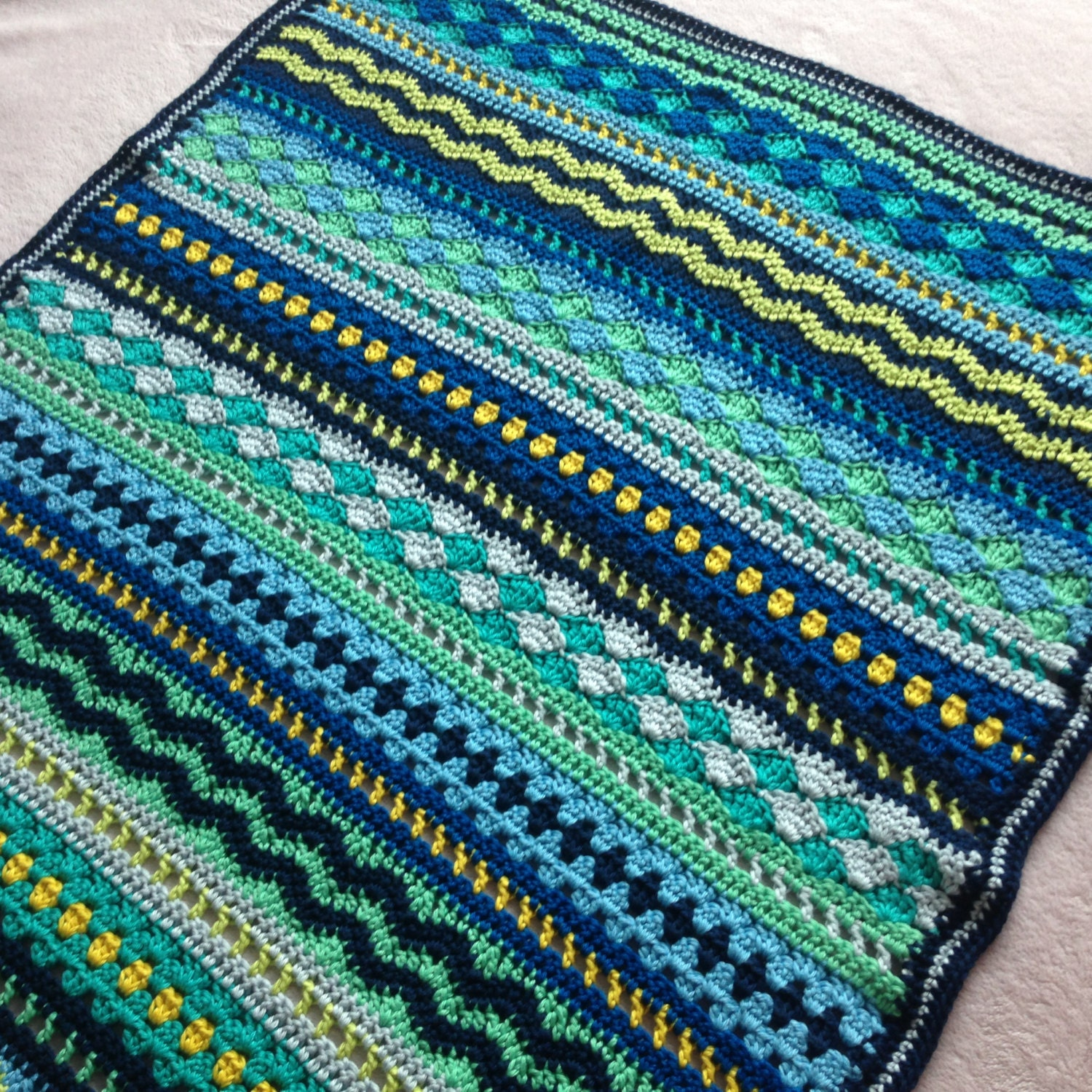 Crochet baby blanket pattern tutorial baby blues blanket zoom bankloansurffo Image collections