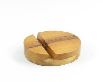 Country wood phone stand