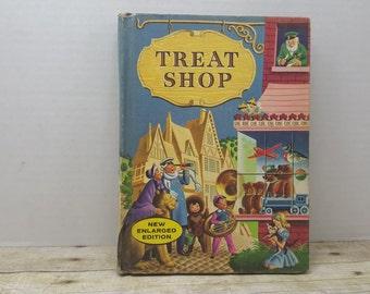 Treat Shop, 1960, ReadText Series, vintage kids book, text book,