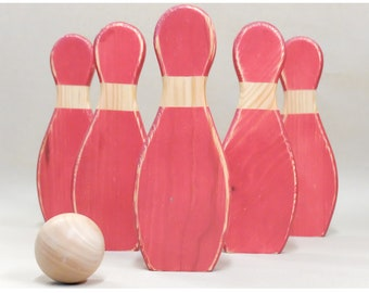 Wooden Bowling