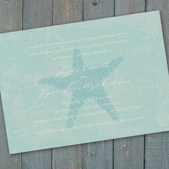 wedding invitations, destination wedding invitations, coastal wedding invitations, beach wedding invitations, bachelorette party, IN199