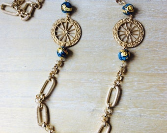 Necklace with Sicilian wheels