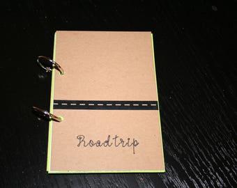 Road Trip Travel Journal, Smash Book, Junk Journal, Memory Keeping, Travel Journal, Travelers Notebook, Travel Gift