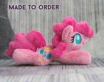 Pinkie - Tiny Plush Toy - Made to Order