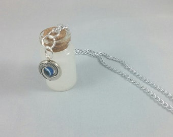 Bloodborne Inspired Bottle of Insight Necklace