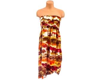 Tie Dye Dress - XL - [Harvest Dress]