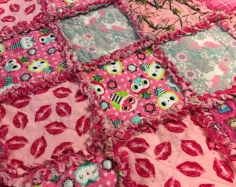 Girls Quilted Blanket