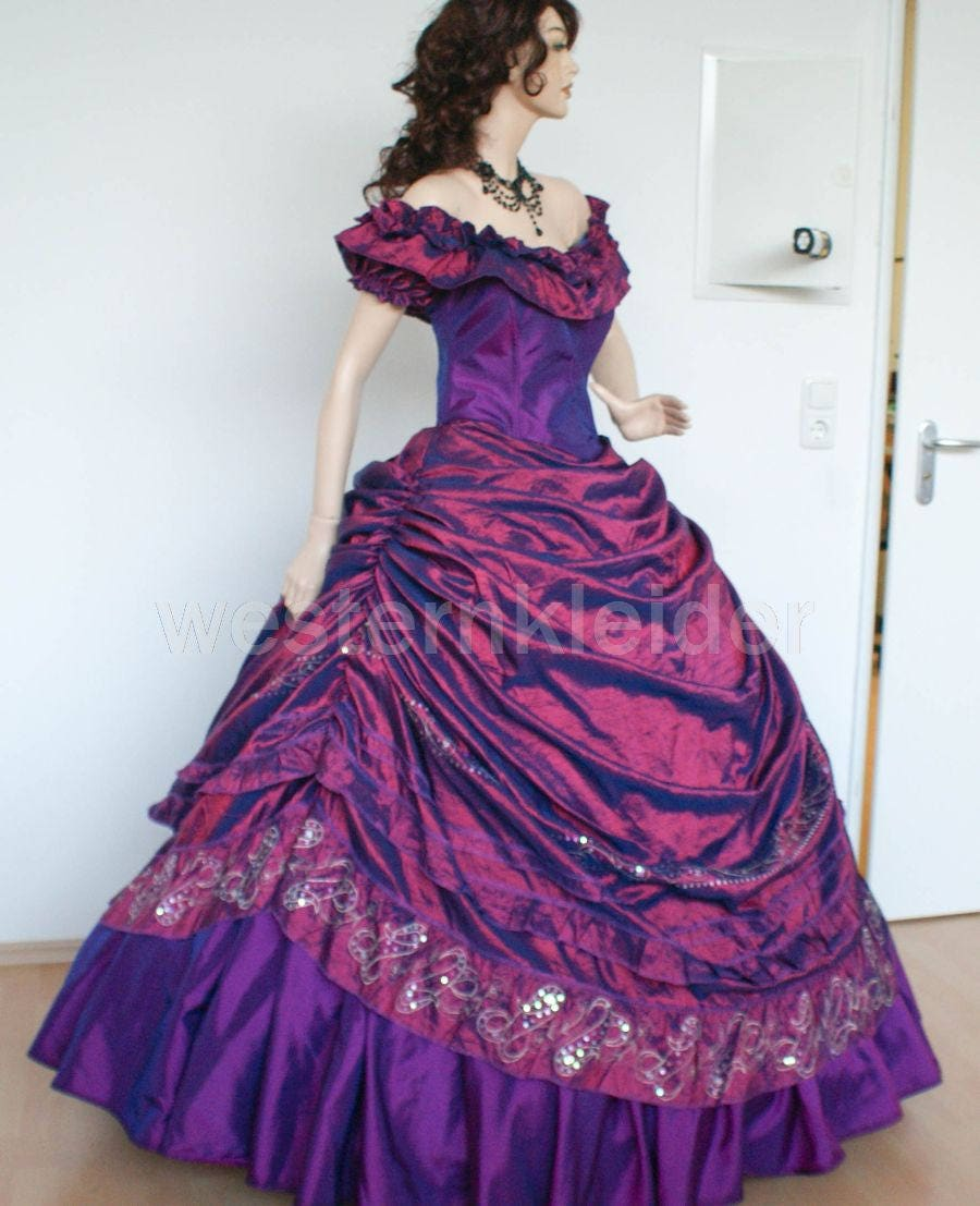 Victorian dress Sissi dress vintage dress steampunk gown