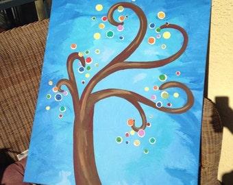 "Acrylic Painting, 18""x24"""