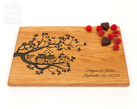 Wedding Gift Ideas Australia: Personalized Cutting Board Wedding Gift Custom Wedding Gift