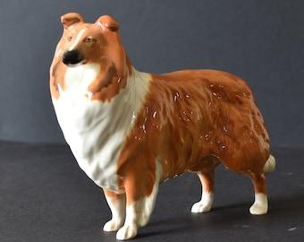 Beswick Rough Collie Dog  LOCHINVAR OF LADYPARK Lassie Gloss 8 Inch