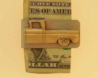 62 Chevy truck money clip