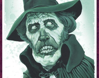 Vincent Price in 'Madhouse' - 42cm x 30cm signed art print