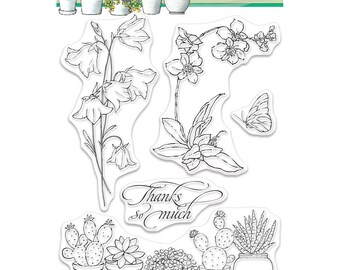 Penny Black Clear Stamp Set - Happy Togeather