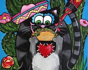 Taco Cat by Melody Smith