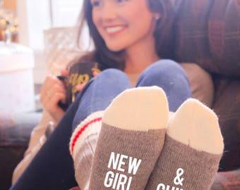 New Girl & Chill Cabin Socks