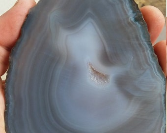 Agate slab. Lapidary slabs. stone rough.