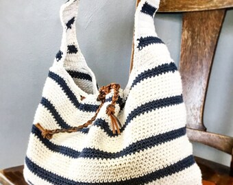 CROCHET PATTERN, la borsa Slouchy Cameron, Crochet Pattern, modello Easy Bag, Crochet Pattern, modello borsa estiva