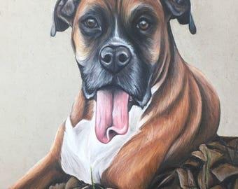 16 x 20 Custom Animal Portrait