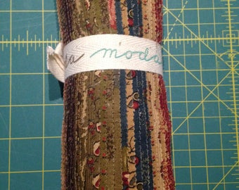 Layer Cake, Delightful December by Sandy Gervais for Moda Fabrics, 100% Cotton
