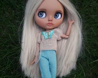 Doll Blythe Doll custom blythe custom doll Blythe ooak-blythe custom ooak