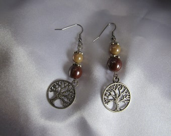 The forest earrings