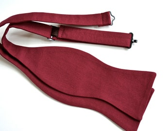 Bow ties for men crimson,mens gift ideas,crimson wedding ideas,wedding accessories for men