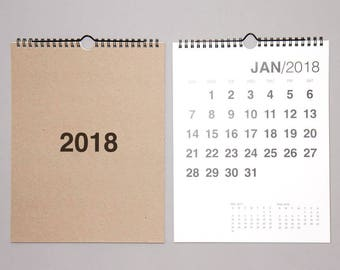 SALE. 2018 Bold Wall Calendar