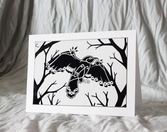 Tribal Crow (Card)