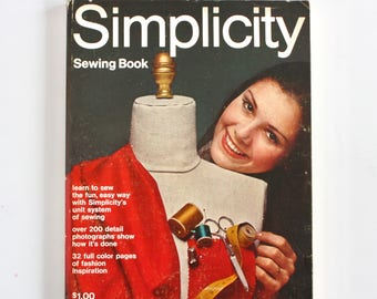 Simplicity Sewing Book- 1970