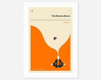 THE DHARMA BUMS (Giclée Fine Art Print/Photo Print/Poster Print) by Jazzberry Blue
