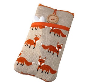 iPhone 7 Sleeve, iPhone 6 Sleeve, iPhone 7 Plus Case, iPhone 6 Plus Case, iPhone SE Case, iPhone 7 Pouch, iPod Case, Pouch foxes pocket