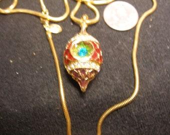 CHRISTOPHER RADKO Christmas Necklace(1036)
