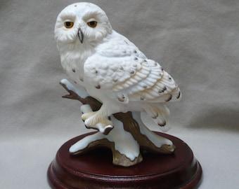 Maruri  Snowy Owl figurine, 'Eyes of the night' 1988,  design O-8802