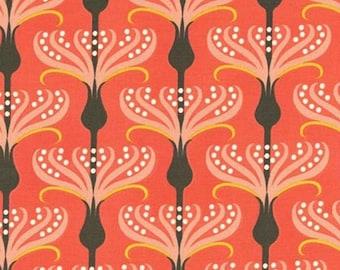 Helen's Garden by Tamara Kate - Pirouette in Coral (DC6190-CORA-D) - Michael Miller - 1 Yard