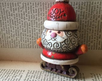 Christmas Joy 1976 Santa Hallmark Xmas Ornament