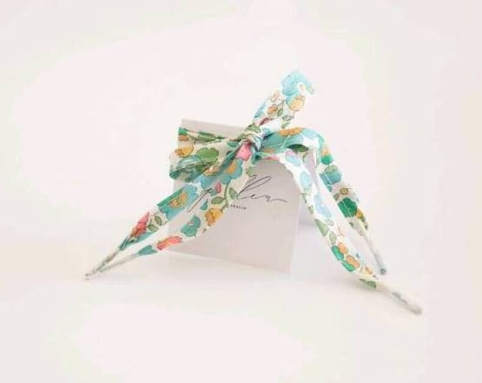 LIBERTY PRINT SHOELACES in adult and children's sizes - Betsy D Green