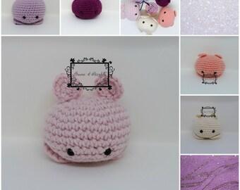 Amigurumi pink ball