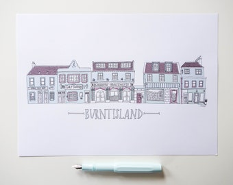 Burntisland Fife Print