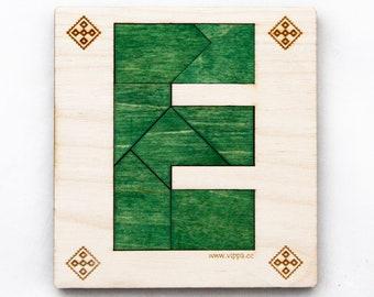 Tangram Letter