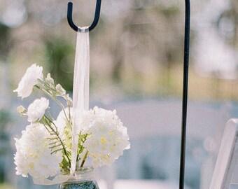 Wedding Hooks. Garden Shepherd Hooks. Mason Jars Holder. Tissue Pom Pomu0027s.  Outdoor