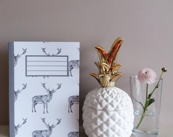 stag notebook | stag notepad | stag illustrated journal | stag stationary