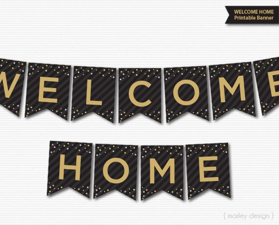 Candid image for welcome back banner printable