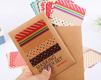 Masking tape set 27 sheets
