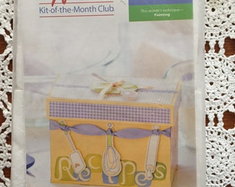 Creative Woman, Kit-ot-the-month, Retro Recipe Keeper